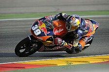 Moto3 - Erster Schlagabtausch: 1. Training: Salom knapp vor Vinales