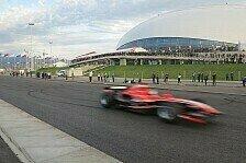 Formel 1 - Enormes Interesse: Marussia schw�rmt von Sotschi