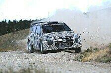 WRC - Bilder: Hyundai-Testfahrten