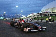 Formel 1 - GP2, GP3 und Porsche Supercup im Rahmenprogramm: Russland-Grand Prix: Ticketverkauf ab 4. M�rz 2014