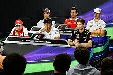 Formel 1 - Gewicht als Einstellungskriterium?: Saison 2014: Gewichtsfrage kocht wieder hoch