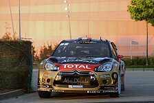WRC - Sekundenduell um die Spitze: Loeb �bernimmt Frankreich-F�hrung