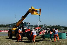 Formel 1 - I hit the wall...: Video - R�ikk�nens Unfall in Korea