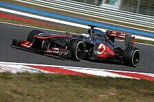 Formel 1 - Wenn man nichts mehr zu verlieren hat: Button: V�llig kurioses Setup f�r Indien
