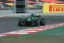 Formel 1 - Herantasten in Korea: �ber- und Untersteuern bei Caterham