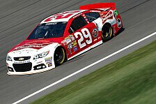 NASCAR - Pole Position für Harvick in Kansas