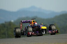 Formel 1 - Mercedes in Lauerstellung: 3. Training: Red Bull schl�gt zur�ck