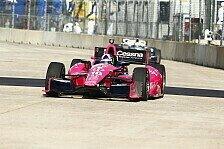 IndyCar - Wechsel an der Spitze: Franchitti-Crash �berschattet Power-Sieg