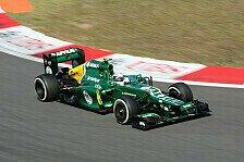 Formel 1 - Platten, Probleme und Penalties: Auf und Ab bei Caterham