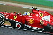 Formel 1 - Problemfall Reifen: Massa: Kann nicht zufrieden sein
