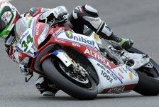 Superbike - Probleme mit Elektronik und Reifen: Giugliano mit verkorksten Rennen