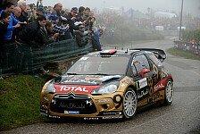 WRC - Trauriges Ende einer grandiosen Karriere: Ausgeschieden! Loeb �berschl�gt sich