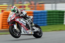 Superbike - WM-Leader Sykes hinter Aprilia-Duo Laverty und Guintoli: Giugliano schockt die Favoriten in Q1