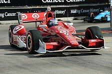 IndyCar - Houston: Dixon siegt - Podium für de Silvestro