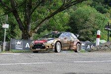 WRC - �berschlag nach einem Kilometer: Video - Loeb crasht in Frankreich