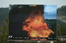 Formel 1 - Sehr schnell sehr gro�: Webber-Feuer: KERS m�gliche Ursache