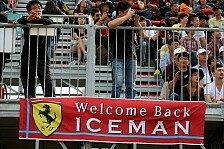 Formel 1 - Berechenbar und gew�hnungsbed�rftig: Ferrari: Keine Alternative zu R�ikk�nen