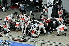 Formel 1 - Massiver Bremsplatten war schuld: Pirelli wehrt sich: Machtlos gegen L�cher