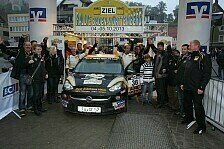 ADAC OPEL Rallye Cup - Entscheidung im ADAC OPEL Rallye Cup auf Finale vertagt: Markus Fahrner gewinnt Heimspiel