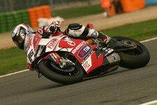 Superbike - Fores startet f�r Checa: Badovini hofft auf vers�hnliches Ende