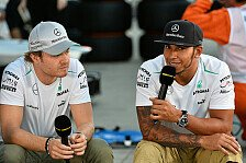 Formel 1 - Crashen, aussteigen, weggehen: Video - Hamilton/Rosberg erkl�ren das Monocoque
