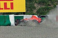 Formel 1 - Unfall mit Folgen: Kein 2. Training: Neues Chassis f�r Bianchi