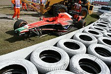 Formel 1 - Crash, boom, bang: Video-Wochenende - Best of F1-Crashes