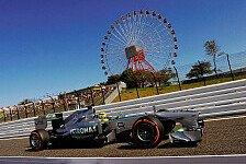 Formel 1 - Typischer Mercedes-Freitag: Mercedes zweite Kraft in Japan