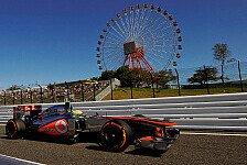 Formel 1 - Voll in die Mauer: Perez nach heftigem Unfall: Fahrfehler