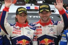 WRC - Start bei der Rallye Condroz: Loeb wieder im Rallye-Auto