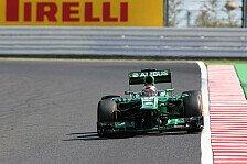 Formel 1 - Spekulationen um Marcus Ericsson: Caterham: Schwede soll Kovalainen ersetzen