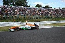 Formel 1 - Eiertanz auf Formel-1-untauglichen Reifen: Adrian Sutil kritisiert Reifen