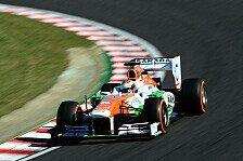Formel 1 - Schwierig zu fahren: Di Resta: Balance macht das Leben schwer