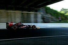 Formel 1 - Defekte Hinterradbremse bei Jean-Eric Vergne: Wind & Feuer bremsen Toro Rosso
