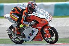 Moto3 - Finsterbusch startet von Rang 14, Gr�nwald von 23: Zufriedene Gesichter bei Kiefer Racing