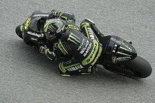 MotoGP - Explodierender Arm: Crutchlow trotz starker Schmerzen in Reihe eins