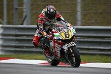 MotoGP - Schmerzen und eingeschr�nkte Bewegung: Rennstart: Bradl hat alles versucht