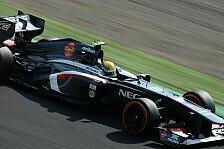 Formel 1 - Spektakul�res Boxen-Feuer: Sauber kl�rt auf: Deshalb brannte Gutierrez' Auto