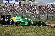 Formel 1 - H�lkenberg und di Resta w�ren Verlust: Van der Garde: Gewichtsproblem unfassbar