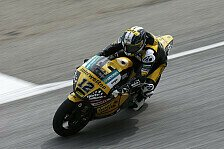 Moto2 - Gewaltige Slides in Schlussphase: L�thi erk�mpft Platz drei