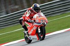 Moto3 - Reifen und Fu� als Hindernis: Folger k�mpft sich auf Platz acht