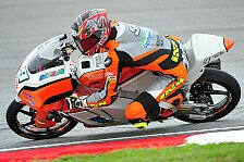 Moto3 - Der Ersatzmann �berzeugt: Gr�nwald erneut schneller als Finsterbusch