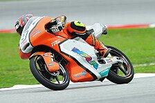 Moto3 - Neuzugang deutlich schneller: Gr�nwald h�ngt Finsterbusch ab