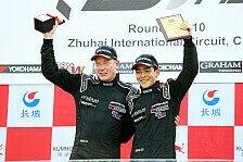 DTM - Sieg in Zhuhai mit Matt Solomon: H�kkinen erstmals seit 2007 wieder Rennsieger