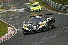 VLN - Erste Pole-Position des McLaren: D�rr Motorsport sammelt F�hrungskilometer