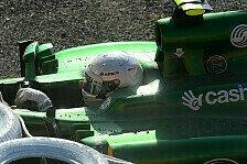 Formel 1 - Zwischen den Marussias eingeklemmt: Van der Garde nach Crash unverletzt