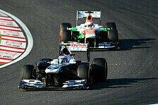 Formel 1 - Reifen haben zu fr�h schlappgemacht: Di Resta: Williams als Bremsklotz