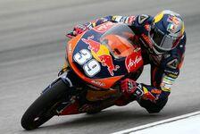 Moto3 - Miller und Folger mischen mit: Salom trotz Defekt im 3. Training vorn