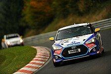VLN - Gewinner-Trio macht 54 Gesamtpl�tze gut: Hyundai Veloster Turbo feiert ersten Klassensieg