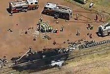 Supercup - Edwards stirbt auf dem Beifahrersitz: Video - Edwards tot: Bilder der Unfallstelle